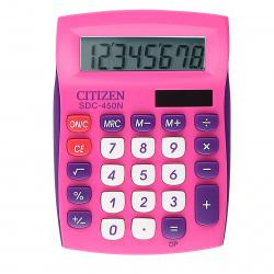 Калькулятор настольный 8 разрядов Citizen ЭКО ECC 210 солнечные элементы 150*107*35 черный