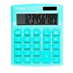 Калькулятор настольный 10 разрядов Citizen SDC 810 NRGN двойное питание 125*105*20мм зеленый