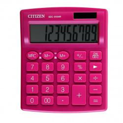 Калькулятор настольный 10 разрядов Citizen SDC 810 NRPK двойное питание 125*105*20мм розовый