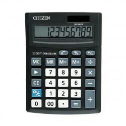 Калькулятор настольный 10 разрядов Citizen BusinessLine CMB 1001 BK двойное питание 136*100*32мм черный