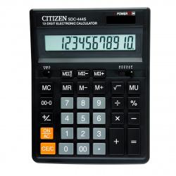 Калькулятор настольный, 12 разрядов, питание двойное, 199*153*30мм   Citizen SDC-444S