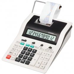 Калькулятор печатающий 12 разрядов Citizen CX 121 N 269*194*66мм белый/черный