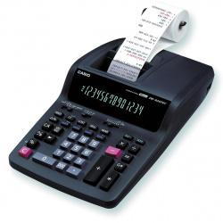 Калькулятор печатающий 14 разрядов Casio DR-320TEC-EA-EC 339*214*87мм черный
