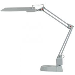 Светильник на струбцине + подставка Camelion KD-017А (белый)