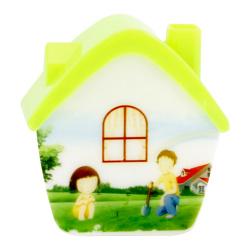 """Светильник-ночник Camelion NL-173 """"Домик"""" 220В, 4 Led"""