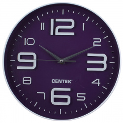 Часы настенные Centek CT-7101 Violet