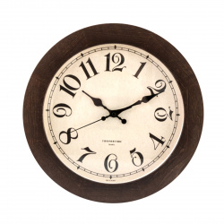 Часы настенные Ø 30см Тройка 11007184 Дерево