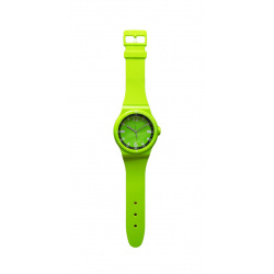 Часы настенные Arte Nuevo EG3017-WL19 92,5x20,3 см (пласт. корпус) зеленые