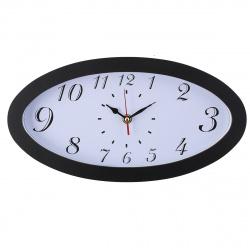 Часы настенные Arte Nuevo EG6977/1 33,3х17,5 (пласт. корпус) черные
