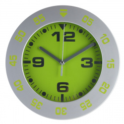 Часы настенные Arte Nuevo EG6919B-HF1/1(G) (пласт. корпус) зеленые