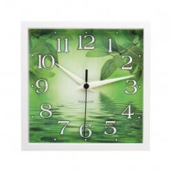 Часы настенные ПЕ - А8 - 258 (пластик, дискретный ход)