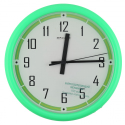 Часы настенные ПЕ - Б3.3 - 257 (пластик, дискретный ход)