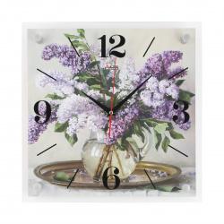 Часы настенные Arte Nuevo 3535-368 AN Сирень