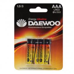 Батарейка Daewoo LR03 4*BL