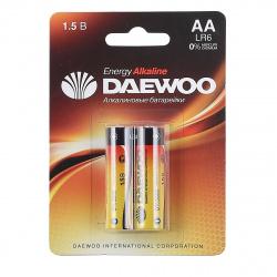 Батарейка Daewoo LR06 2*BL