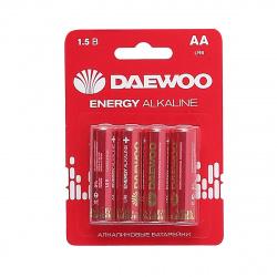 Батарейка Daewoo LR06 4*BL ENERGY Alkaline 2021