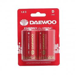 Батарейка Daewoo LR20 2*BL ENERGY Alkaline 2021