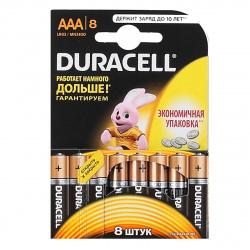 Батарейка Duracell LR03 BASIC/NEW BL-8