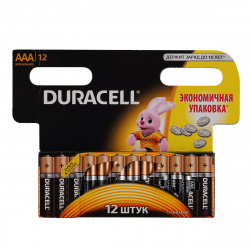 Батарейка Duracell LR03 BASIC/NEW BL-12