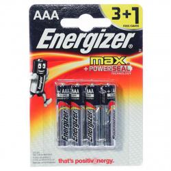 Батарейка Energizer LR03 MAX  4*BL