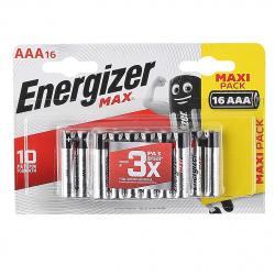 Батарейка Energizer LR03 MAX  16*BL