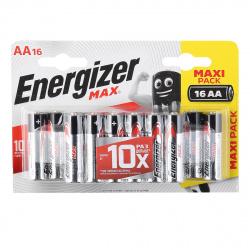 Батарейка Energizer LR06 MAX  16*BL