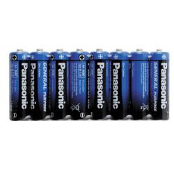 Батарейка солевая, R06, 8шт, без блистера Panasonic 31