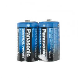 Батарейка солевая, C (R14), 2шт, без блистера Panasonic 7