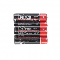 Батарейка Mirex R03 4 б/б (23702-ER03-S4)