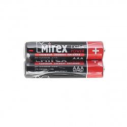 Батарейка Mirex R03 2 б/б (23702-ER03-S2)