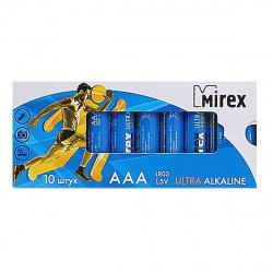 Батарейка Mirex LR03 10*BL (23702-LR03-M10)