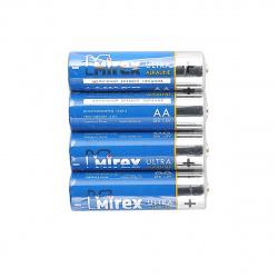 Батарейка Mirex LR06 4 б/б (23702-LR6-S4)