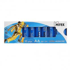 Батарейка Mirex LR06 10*BL (23702-LR6-M10)
