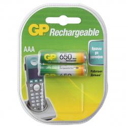Аккумулятор GP R03 650 AAАHC   2*BL