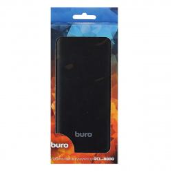 Аккумулятор мобильный PowerBank Buro RCL-8000-BK Li-Pol 8000mAh 2.1A черный 2xUSB