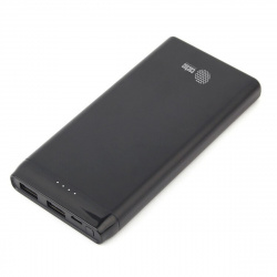 Аккумулятор мобильный PowerBank Cactus CS-PBFSFT-10000 Li-Pol 10000mAh 2,1A черный 2xUSB