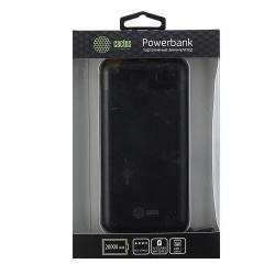 Аккумулятор мобильный PowerBank Cactus CS-PBFSET-20000 Li-Pol 20000mAh 2,1A черный 2xUSB