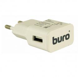 Зарядное устройство сетевое СЗУ Buro TJ-159w, 2.1А, универс, белый