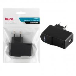 Зарядное устройство сетевое СЗУ Buro XCJ-024-2.1A, 2.1A, универс, черный