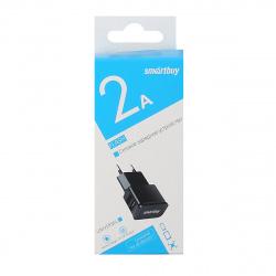 Зарядное устройство сетевое СЗУ SmartBuy Super Charge Classic, 2*USB, 2,1А, черный (SBP-9043)